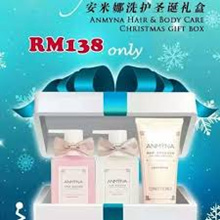 RM118 after APPLIED coupon!!【安米娜洗护圣诞礼盒】Anmyna Hair Body Care Christmas Gift Box ✔柔顺套装 +✔ 魅惑沐浴露