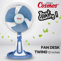 Desk Fan Cosmos Twino Desk wall New Arrifal The Best Quality