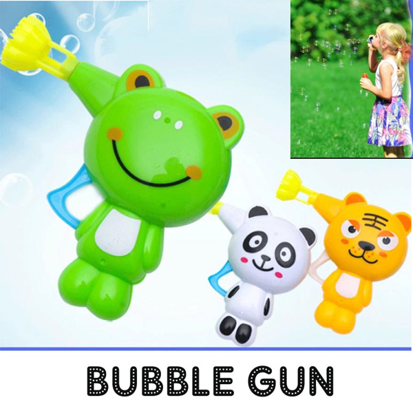 Bubble Gun Toy Kids Toys Goodies Bag Student Gift School Hero Deals for only S$5.9 instead of S$0