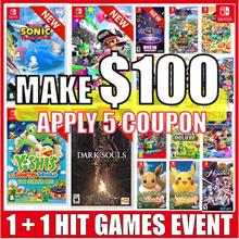 [1+1 Event] Nintendo Switch HIT 16 Games Collection / Splatoon 2/ U Deluxe / Yoshi / Sonic Racing