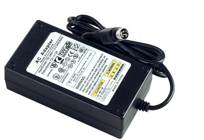 Hikvision DVR power supply 12V5A four-pin 4-pin power adapter DVR two-wire  output