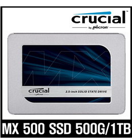 [Crucial MX500 SSD 500G / 1TB ]  Only Today Special Price $79.9