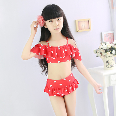 Qoo10 Girls Swimsuit Kids Fashion