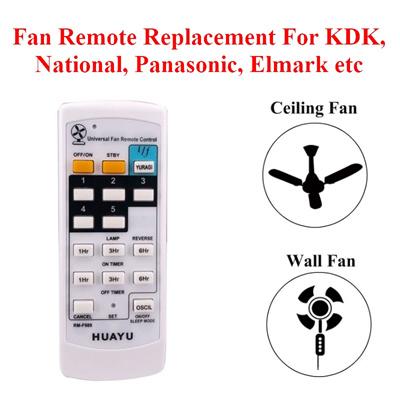 Universal Fan Remote Replacement For KDK Panasonic. Elmark Ceiling Fan Wall Fan