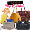SPECIAL OFFER !! LIMITED TIME ! IMPORTED BAGS - WALLETS ORIGINAL