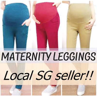 8d81fceae9c Maternity Leggings Pants Bras Clothes Trousers Pregnant Office Casual Local  Seller