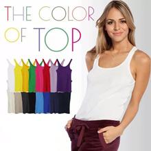 WOMEN BASIC TEE - GOOD QUALITY - TANK TOP - CAMI TOP - Baju Wanita - Women Tshirt