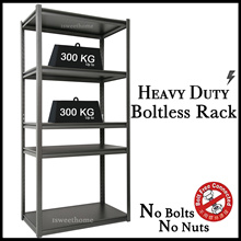 ★Boltless Shelves Rack with 5 shelves ★Storage rack/Rack/shelves/shelf/kitchen storage