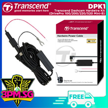 Transcend DPK1 Transcend Dashcam hardwire kit for DrivePro (100/200/220/520) Mini-B 1Y Local Warrant