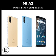 XIAOMI MI A2 4/64GB ORIGINAL BUILT-IN GLOBAL ROM / 12 MONTHS OFFICIAL XIAOMI SINGAPORE WARRANTY