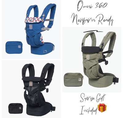 ac47e2503d5 COUPON   Free Gift Included  Omni 360 All Position Baby Carrier Newborn  Ready OEM