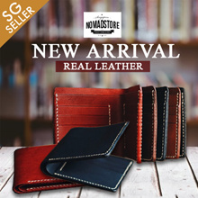 Handcrafted Classic Leather Bi-fold Wallet (Free Local Delivery)