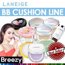BREEZY★2017 New Cushion [LANEIGE] BB Cushion Series / New Sun /Skin Veil Base  /Pore Control/Whiteni