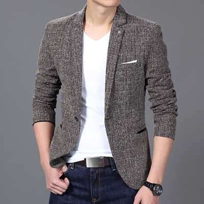 Qoo10 New Brand Clothing Luxury Men Suit Jacket Fashion Casual