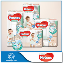 NEW HUGGIES Platinum Diapers - available in all sizes