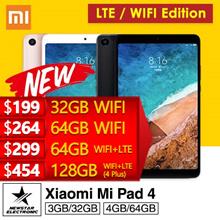 Latest Xiaomi Mi Pad 4 * Mi Pad 4 PLUS * WIFI/LTE * 4GB+64GB * 6000 mAh