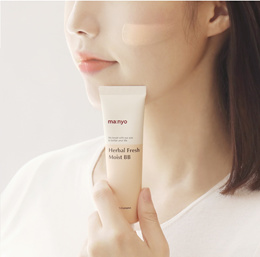 [ManyoFactory] ★Herbal Moist BB Cream★No silicon Oil /Natural ingredient BB cream