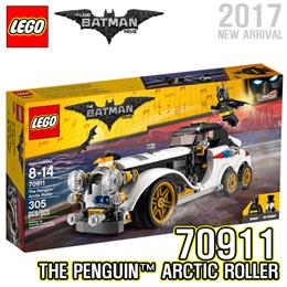 2017 NEW! [LEGO] Batman Movie The Penguin Arctic Roller 70911