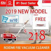 💖READY STOCK💖[Roidmi F8 F8E Vacuum Cleaner] ROIDMI Handheld Cordless Vacuum Cleaner