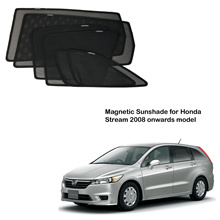 Honda Stream 2008 onwards model Magnetic Sunshade