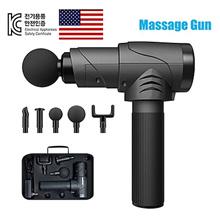 Massage Gun Massager Muscle Massage Fitness Massage 5 filial piety gift head Premium Free Shipping