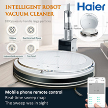 Haier TAB-T550WSC household smart vacuum cleaner with automate scrub and mopping