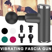 Mini Electric Massage Gun Deep Muscle Fascial Body Massager Gun Tissue Percussion Small Fitness Equi