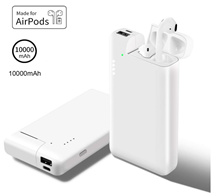 [AIRPODSTTERY] AirPods Charger Cradle All-in-One iPhone Charging Spare Battery AirPods
