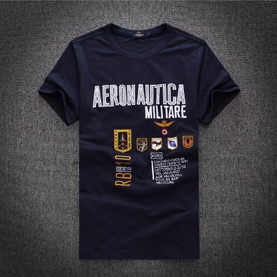 b0731546cfd New Men s Fitness Embroidery Aeronautica Militare Men T-shirt Air Force One  Mens T