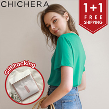 [CHICHERA] ♥ 1+1 ♥ Free Shipping ♥ Free Gift Packing ♥ Premium Modal T Shirt Package