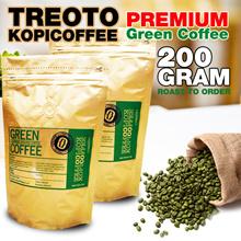 Asli Paling Murah TREOTO KOPICOFFEE PREMIUM Green Coffee / Kopi Diet / Kopi Hijau 200gr