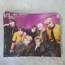 [BTS] Bangtan Boys Photo Star Pouch Make-up Case Multi Pouch Bag KPOP Gift K-POP Soft Fabric
