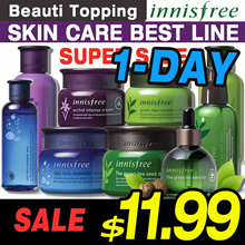 1-DAY SUPER SALE!!★BEST SKIN CARE COLLECTION [innisfree] Green Tea / Orchid / Volcanic /Jeju Seawate