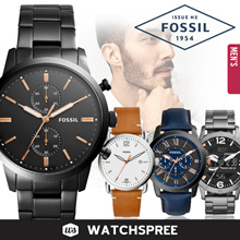 *APPLY 25% OFF COUPON* Fossil Leather and Stainless Steel Watches for Men! Free Shipping!