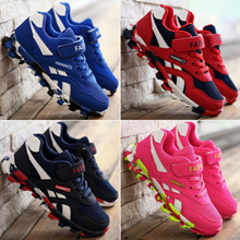 2016 New Arrival Kids Sneakers Boy and Girls Sports Shoes Plus Size 27-40 Womens Shoes High Quality