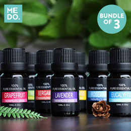 ►1 DAY! $6.90 NETT!!◄ BUNDLE of 3! ★10ML ESSENTIAL OIL FRAGRANCES★ LOCAL SELLER★ REED DIFFUSER★