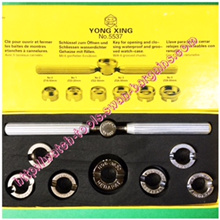 Rolex Tudor Oyster Watch Case Back Opener Wrench Key 6 or 7 Dies Chucks Watch Repair Set *SG Seller