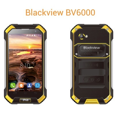 Rugged Phone BV6000 - Android 4G with 3GB Ram 32GB ROM from Blackview  Sold  by Singapore Distributor