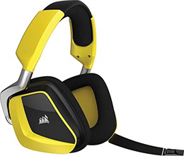 (Renewed) CORSAIR Void PRO RGB Wireless Gaming Headset - Dolby 7.1 Surround Sound Headphones for PC