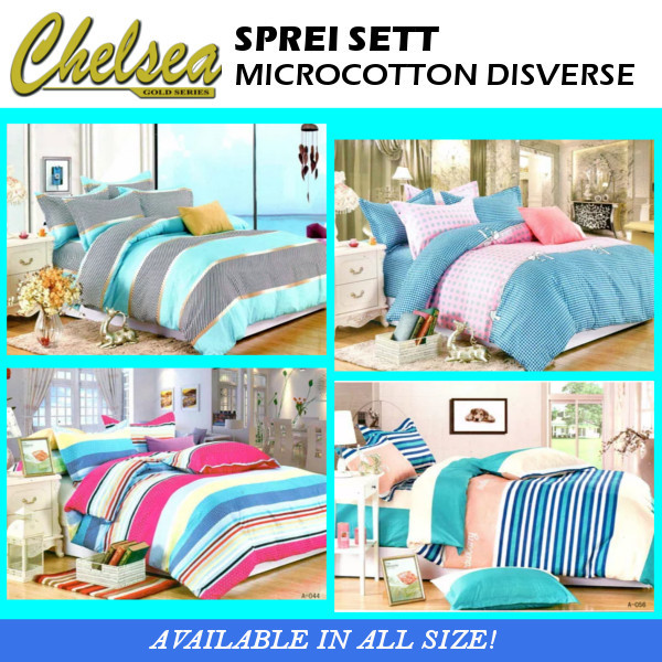 SPREI MICROCOTTON DISVERSE Deals for only Rp80.000 instead of Rp80.000