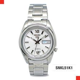Seiko 5 Automatic Mens White Dial Watch SNKL51K1. Free Shipping!