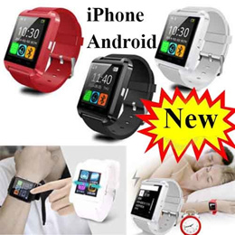 24hourx Smartwatch★ U8 U80 U8 Plus Bluetooth Touchscreen Smart Watch / For iPhone Android HTC Smartwatch Touch Screen Original Uwatch / Value For Money