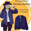 2 In ONE Shipping ~ Korea Fashion Denim Jacket in Multi Design/ Plus Size/ Good Quality