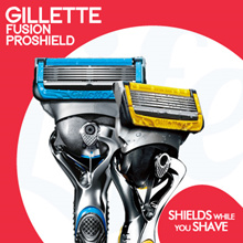 [PnG] Gillette Proshield Fusion NS50 - Reload your rounds add refills!