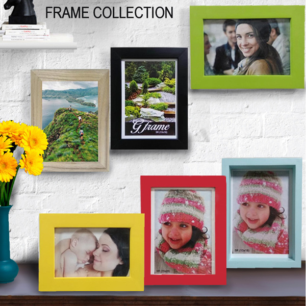 [ON SALE] ALL COLLECTION PHOTO FRAME COLOURING/MODERN/CLASSIC/WITH FIBER