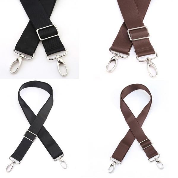 Replacement Shoulder Adjustable Strap Luggage Messenger Camera Bag Black Brown