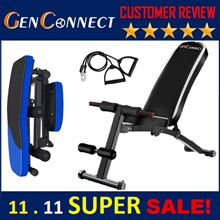 ⏰FOLDABLE Gym Bench!RESTOCKDED! Heavy Weight💪 WORKOUT GYM BENCH SIT UP PULL UP BENCH Dumbbell Press