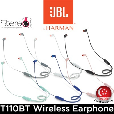 StereoJBL T110BT / Local Set with Local Warranty
