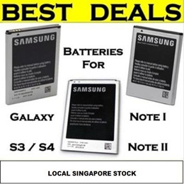 [Samsung]★Authentic Samsung★ Samsung Galaxy S4/Note 2/Note 3 Authentic Battery ★