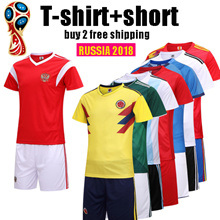 2018 FIFA World Cup soccer jersey suit//adult/kids/Germany/Argentina/Brazil/Spain/